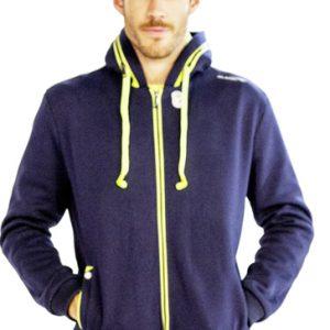 Dark navy blue men's hoodie