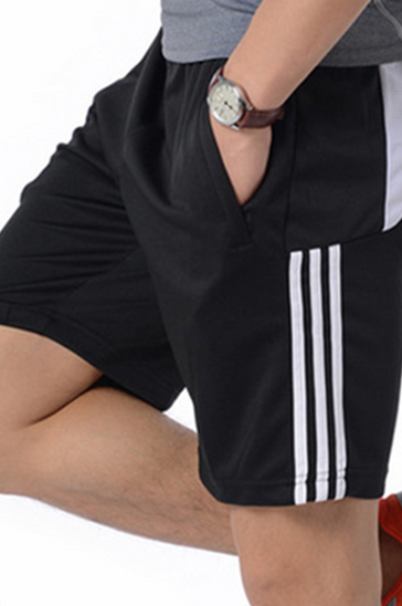 Black And White Mens Gym Shorts Wholesale