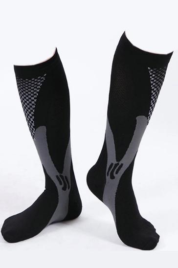 Wholesale Black and Grey Socks