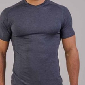Seamless grey men's t-shirts