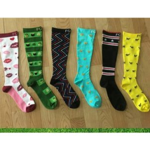 Printed colorful socks