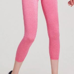 Light pink women's capri