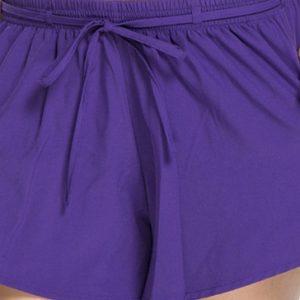 Violet women's shorts