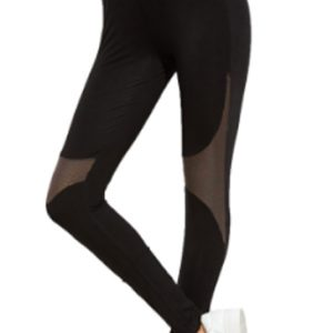 Black and grey women's leggings