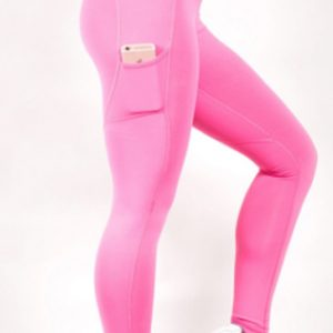Baby pink women's leggings