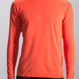 Orange full sleeve men's running tee