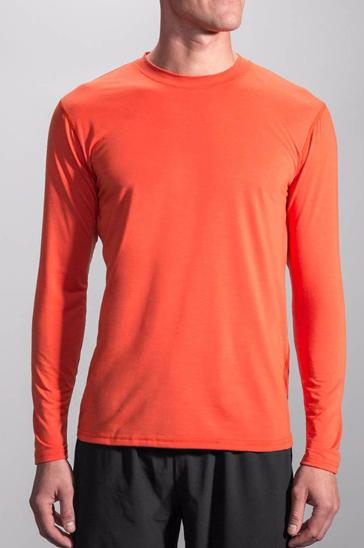 Orange full sleeve men's running tee