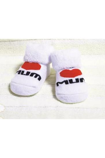 Cute white kids 'socks