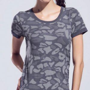 Grey dual shaded women's t-shirts