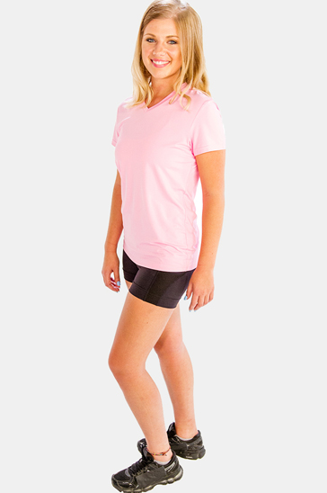 Light baby pink women's t-shirts