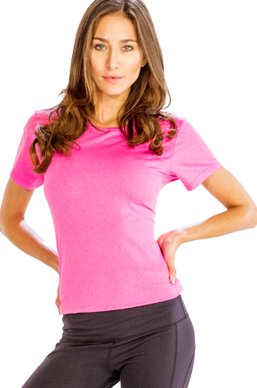 bright baby pink women's t-shirts