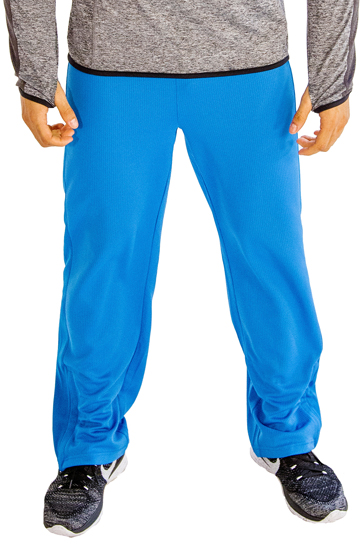Wholesale Fitness Aqua Blue Track Pant for Men
