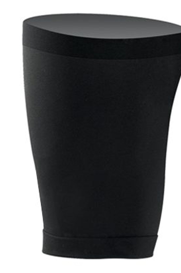 Pure Black Fitness Thigh Sleeve Fitness Socks Manufacturer