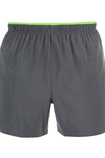 Faded grey men's running shorts