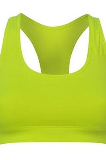 Lime Green Sports Bra Manufacturer