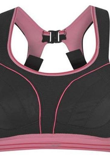 Black Clip Sports Bra Wholesale