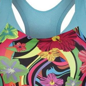 Bright Floral Sports Bra Manufacturer