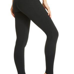 Black Stirrup Leggings Wholesale