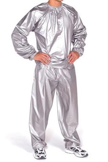 Grey shiny men's sweats