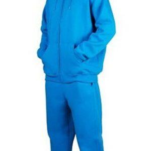 Bright aqua blue men's sweats