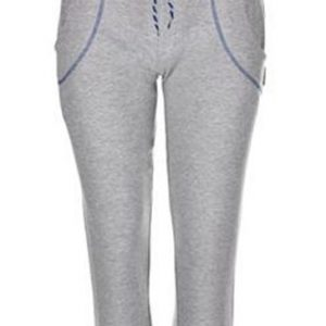 Wholesale Light Grey with Blue Accents Capri