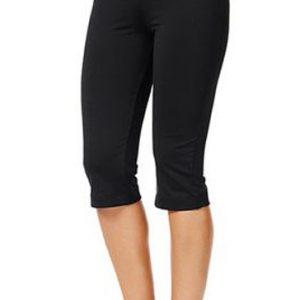 Black women's workout capri