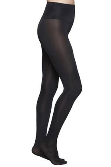 Black women's workout stockings