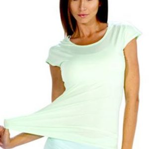 Light soothing green women's t-shirts