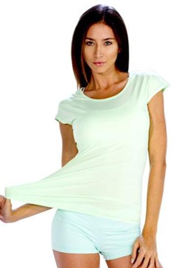 Light soothing green women's t-shirts