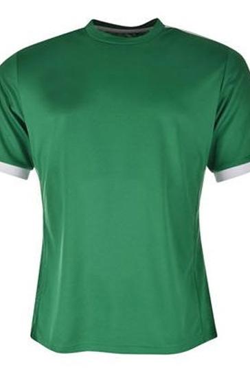 Shiny green and grey men's t-shirts