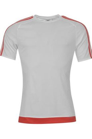 Red and white men's t-shirts