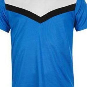 Blue tri colored men's t-shirts