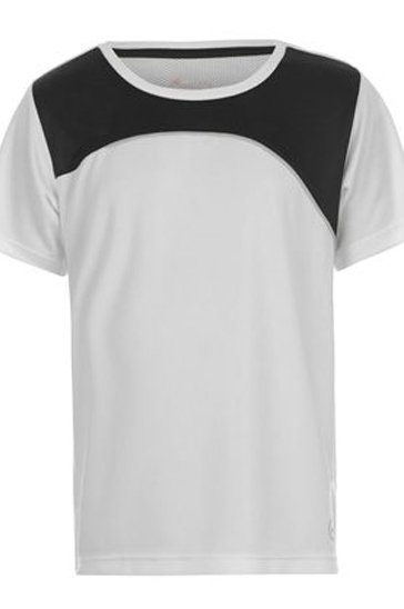 Black and white patchworked men's t-shirts