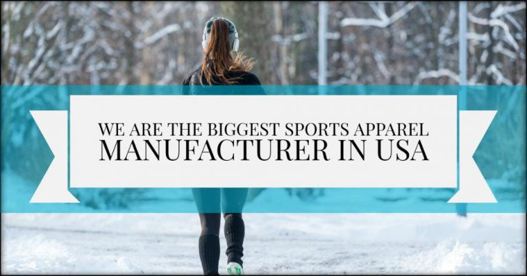 fitness clothing manufacturer USA