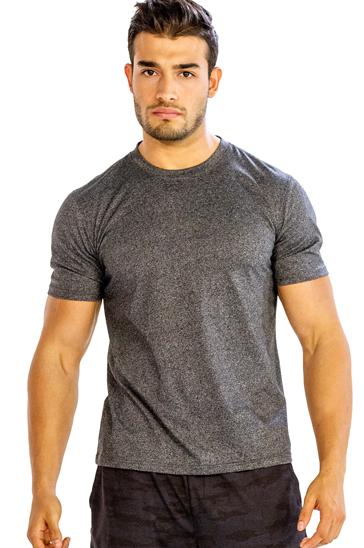 Dark grey men's t-shirt