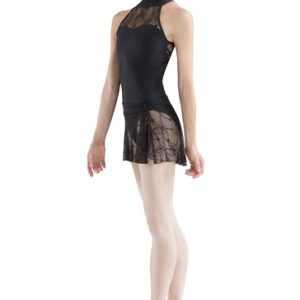 Lacy Black Designer Leotard Manufacturer