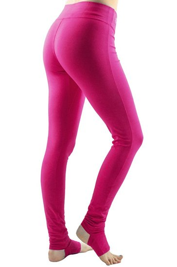 Bright Pink Stirrup Leggings Manufacturer