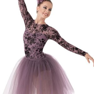 Lilac and Black Classic Romantic Tutu Wholesale