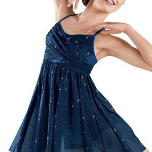Magical Blue Sequin Dress Wholesale