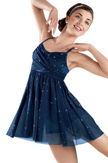 Magical Blue Sequin Dress Wholesale