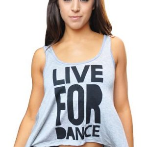 Powder Blue Live for Dance Tank Top Manufacturer