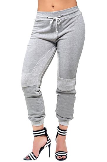 Light Grey Women's Jogger Pants