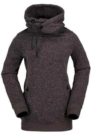 Charcoal grey women's pullover