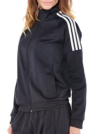 Black and white women's sports suits