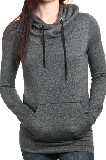 Women's dark grey sweatshirt