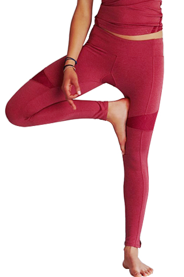 Punch Pink Shaded Leggings Wholesale